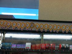 CMN balloon display at Walgreen's