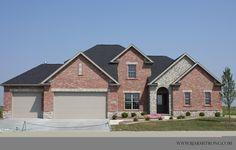 Brick and Stone Home Exterior