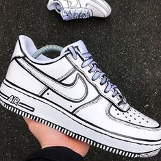 Air Force Sneakers, Nike Air Force, Sneakers Nike, Nike Af1, Diy, Shoes, Fashion, Nike Tennis, Moda