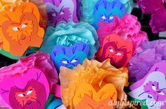 Alice in Wonderland DIY Flowers