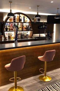 Bar interior design can give you the finest lighting inspiration. #modernchandeliersblog #lifestylebyluxxu #luxxumoderndesignliving #luxurydecoration #luxury #bar #designideas #bardesign #lighting #interiordesign Luxury Bar, Luxury Decor, Bar Interior Design, Modern Chandelier, Liquor Cabinet, Lighting, Inspiration, Furniture, Home Decor