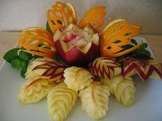 Obst Und Gemüse Schnitzen Dekorieren
