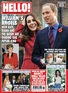 Once again, the Duke and Duchess of Cambridge grace the cover of Hello! Magazine.