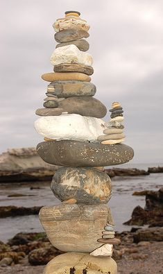 Shell Beach Rock Sculpture, via Flickr.