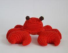 Wesley the Crab | $6.50 by MyGurumi