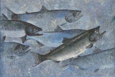 gyotaku fish - Google Search