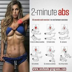 The 15 Minute Hot ABS Workout - The Best Bodybuilding Workouts Program