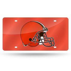 Cleveland Browns NFL Laser Cut License Plate Tag