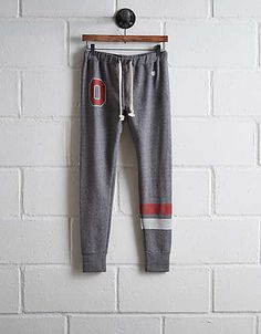 Tailgate Women's Ohio State Terry Fleece Sweatpant - Free Returns