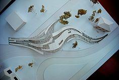 üç boyutlu sergi alanı tasarımı - Google'da Ara Blue Space, Exhibit Design, Urban Design, Canopy, Galleries, Architecture Design, Design Inspiration, Culture, Studio