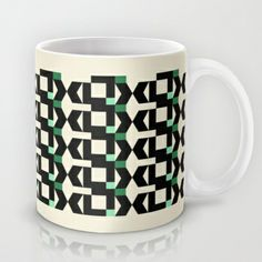Abstract Pattern Mug by Marie-Lucia Fantasia - $15.00