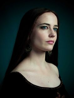 Eva Green as Morgan, portrait by Michael Muller for Camelot. She is awesome. I can't believe she did that to Merlin!