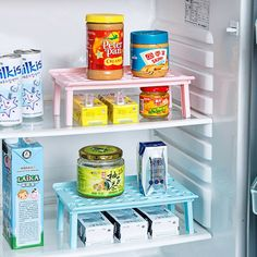 Microwave oven rack Foldable Kitchen Organizer Cupboard Storage Shelf Refrigerator Rack House Dish Holders Plastic Rack – Top Daily Trends