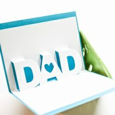 Cute card for dad -- simple and cute!