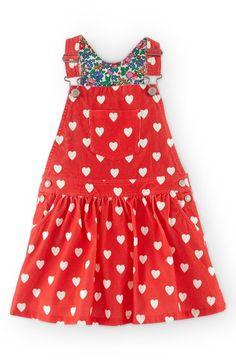 Mini Boden Overalls Dress (Toddler Girls, Little Girls & Big Girls) available at #Nordstrom