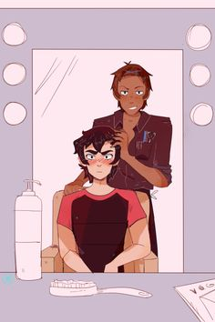 so I misread 'sniper lance' as 'snipper lance' and after I cleared up that momentary confusion this happened au where keith refuses to cut his hair so shiro, aka the fed up brother, pays for him to go to a ~fancy~ salon where the hairdresser keith ends up with is hot and naturally flirty and keith is So Gay