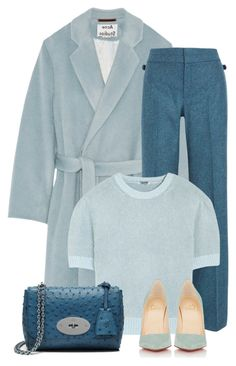 """""""Untitled #249"""" by anaalex ❤ liked on Polyvore featuring Acne Studios, Gucci, Miu Miu, Christian Louboutin and Mulberry"""