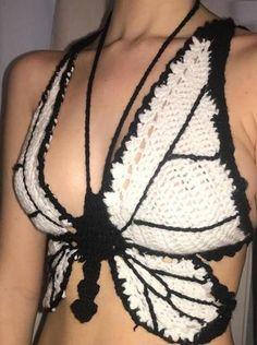 (1) Womens New Arrivals – ASHORE SHOP Crochet Halter Tops, Crochet Shirt, Crochet Crop Top, Cute Crochet, Crochet Bikini, Knit Crochet, Crochet Summer Tops, Diy Crochet Projects, Crochet Crafts