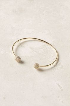 Pave Pompom Cuffs / Anthropologie