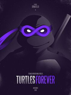 Donatello Forever Art Print by iwilding | Society6, Teenage Mutant Ninja Turtles