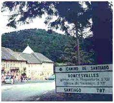 Roncesvalles, Navarra. Primera etapa del Camino Navarro.
