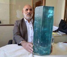 A huge Aquamarine....my birth stone....from Badakhshan