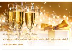 Wir wünschen Ihnen viel Glück im neuen Jahr!