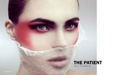 The Patient - Photographed by Ron Goldstein  Hair and Makeup Stefi Bazavan