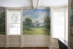 Susan harter murals custom and wallpaper