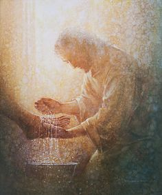 God and Jesus Christ Paintings Of Christ, Jesus Painting, Images Of Christ, Pictures Of Christ, Lds Art, Bible Art, Christian Artwork, Jesus Art, Prophetic Art