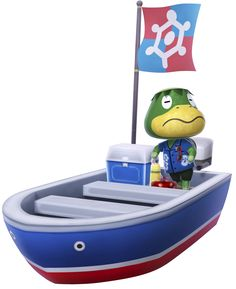 Kapp'n on Boat - Animal Crossing: New Leaf