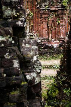 The partially-ruined hindu temple of My Son in central Vietnam.