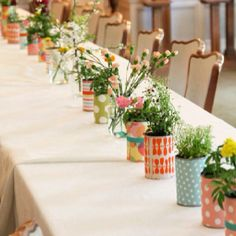 Scrapbook paper cans for vases