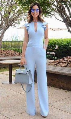 This article contains the best spring work outfits. These outfits are stylish, modern and most importantly totally new Spring Work Outfits, Fashion Outfits, Womens Fashion, Fashion Trends, Latest Fashion, Fashion Ideas, Fashion Shoes, Blue Jumpsuits, Playsuits
