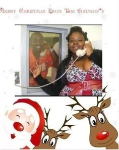 This years best Christmas Card! In jail? This is too funny. I want to do this, just to be funny.