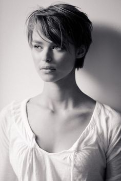 Long Pixie Cut With Bangs