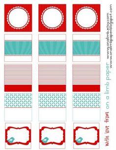 free printable tags - for Christmas