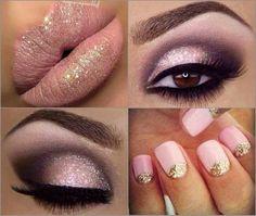 Pale Pink Makeup