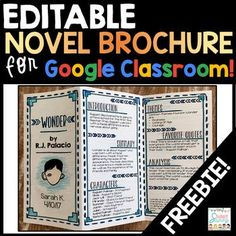 Fun Ideas and Activities for Novel Studies + a GIVEAWAY! Find the latest teaching resources and ideas for the elementary and middle school classroom. Interactive notebooks, classroom management, an Middle School Libraries, Middle School Reading, Middle School English, Middle School Classroom, High School, Flipped Classroom, Future Classroom, Google Classroom, Classroom Freebies