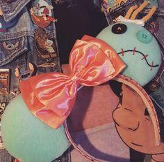 Scrump Disney Ears - Lilo & Stitch Inspired