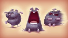 Hickory Dickory Dock by Miklos Weigert, via Behance
