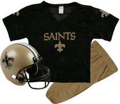 skyler--New Orleans Saints Kids/Youth Football Helmet Uniform Set