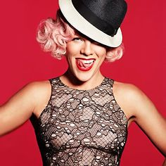 Alecia Beth Moore, or better yet, Pink, like how everybody knows her, is the latest celebrity to collaborate with PETA organization to protect animals. Britney Spears, One Last Kiss, Alecia Moore, Taylor Swift, American Singers, Every Girl, Eminem, Girl Crushes, Movies