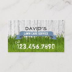Lawn Care & Landscaping Service Professional Business Card | 1000 Lawn Care Business Cards, Vintage Business Cards, Business Card Design, Professional Cleaning Services, Professional Business Cards, Professional Landscaping, Landscaping Supplies, Landscaping Tips, Lawn Service