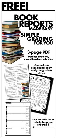 Click here for FREE tools to manage your students' quiet reading time. Easy grading for you!