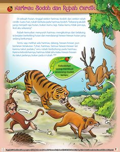 Kindergarten Reading Activities, Preschool Writing, Preschool Learning, Preschool Activities, Kids Story Books, Stories For Kids, Indonesian Language, First Grade Math Worksheets, English Short Stories