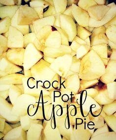 Crock Pot Apple Pie