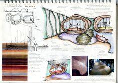 Pavilion Project - Sketchbook Interior Design Sketchbooks, Presentation Boards, Pavilion, Sketching, Restoration, Architecture, Projects, Art, Notebooks