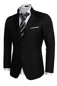 3e691d6c5e78 Coofandy Men's Casual Dress Suit Slim Fit Stylish Blazer Coats Jackets at Amazon  Men's Clothing store: