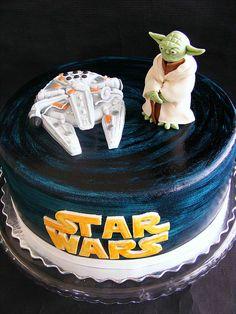 Star Wars cake by bubolinkata, via Flickr